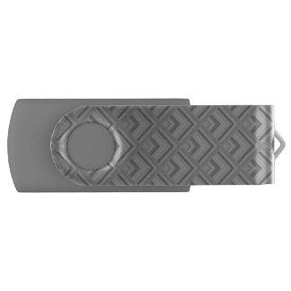 Grey scale pattern USB flash drive