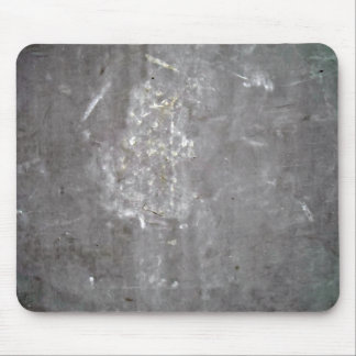 Grey Scratched Metal Texture Mouse Pad