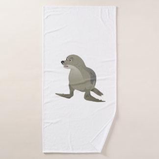 Grey Seal Bath Towel