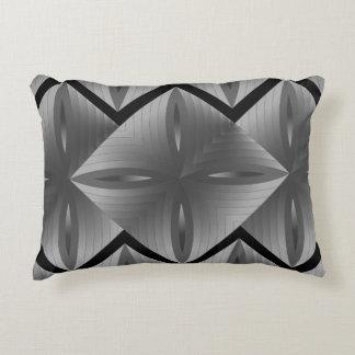 Grey sketch decorative pillow
