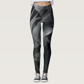 Grey Smoke Designed Leggings