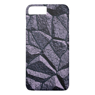 Grey Stone Wall Texture iPhone 7 Plus Case