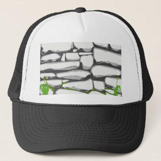 Grey Stone Wall Trucker Hat