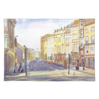 Grey Street Newcastle placemat
