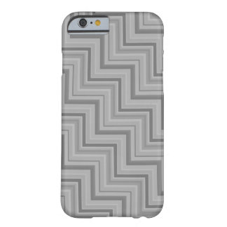 Grey stripes stairs pattern barely there iPhone 6 case