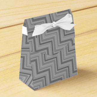 Grey stripes stairs pattern favor box