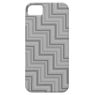 Grey stripes stairs pattern iPhone 5 cases