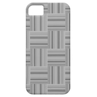 Grey stripes weave pattern case for the iPhone 5