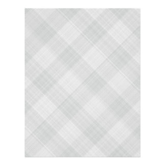 grey table cloth personalized letterhead