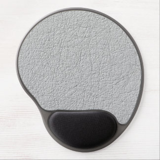 Grey texture modern pattern gel mouse pad