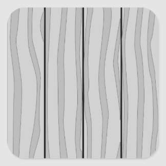 Grey Timber Background Square Sticker