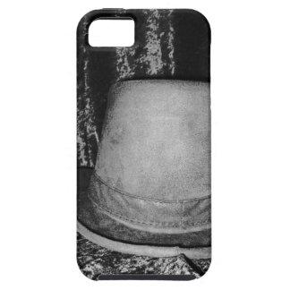 Grey top hat iPhone 5 case
