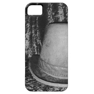 grey top hat iPhone 5 covers
