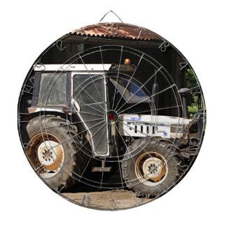 Grey tractor, El Camino, Spain Dartboard