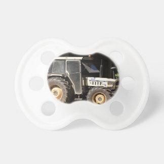 Grey tractor, El Camino, Spain Pacifier