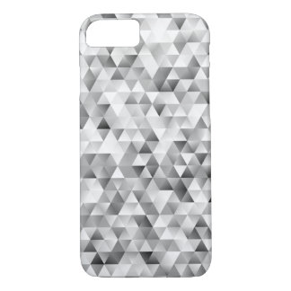 Grey triangle pattern iPhone 8/7 case