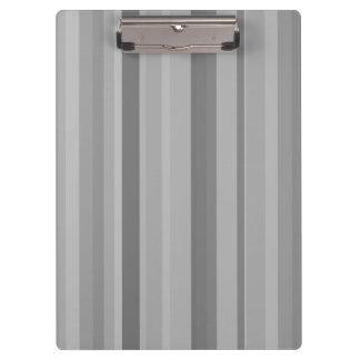 Grey vertical stripes clipboard