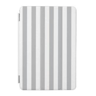 Grey Vertical Stripes iPad Mini Cover