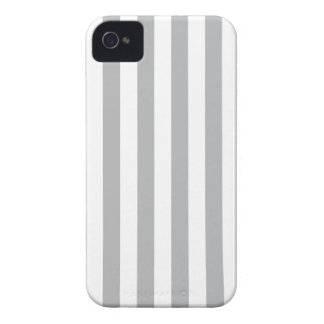 Grey Vertical Stripes iPhone 4 Cases
