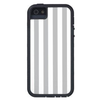 Grey Vertical Stripes iPhone 5 Case