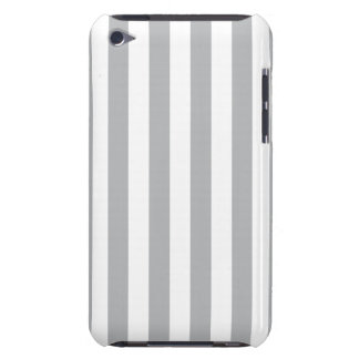 Grey Vertical Stripes iPod Touch Cover