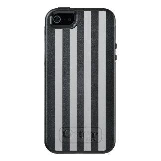 Grey Vertical Stripes OtterBox iPhone 5/5s/SE Case