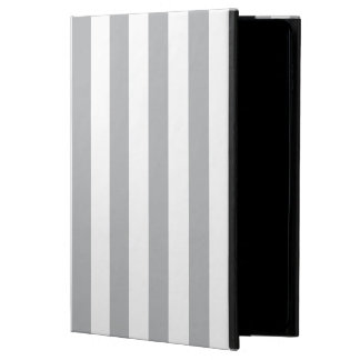 Grey Vertical Stripes Powis iPad Air 2 Case