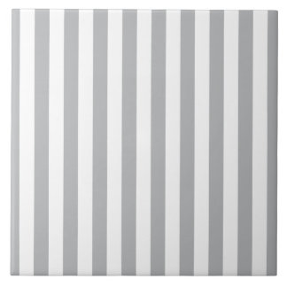 Grey Vertical Stripes Tile