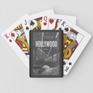 Grey Vintage Hollywood Playing Cards