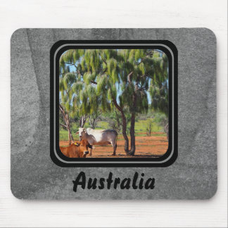 Grey Waddi Trees mousepad