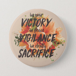 Grey Warden Motto Button