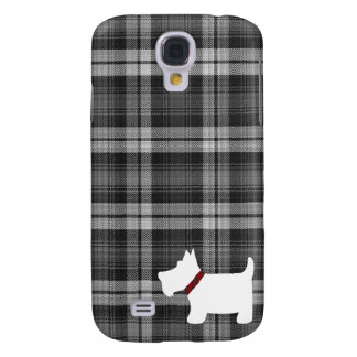 Grey Watch Tartan Pattern with Scottie Dog Case