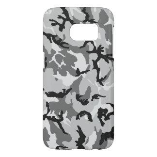 Grey White Black Camouflage Samsung Galaxy S7 Case