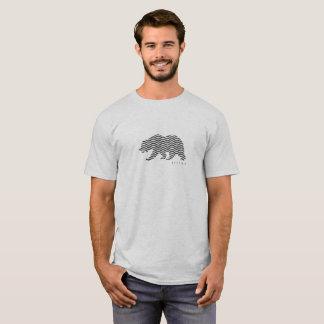 Grey white t-shirt/(White/Gray T-Shirt) T-Shirt