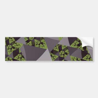 Grey Windmill Bumper Sticker