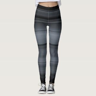 Grey with black shades / stripes leggings