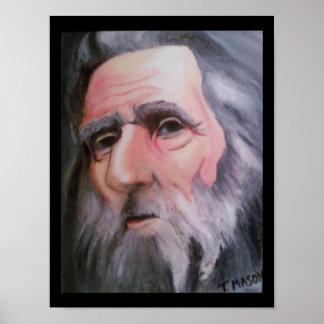 Grey wizard print