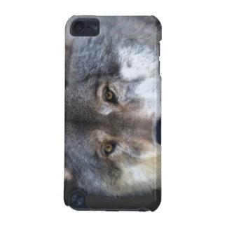 Grey Wolf Face Wildlife Animal Lover Ipod Case