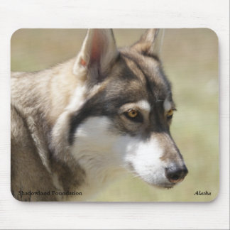 Grey Wolf Mousepad