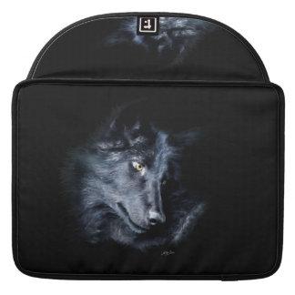 Grey Wolf Portrait Wildlife MacBook Sleeve Sleeve For MacBooks