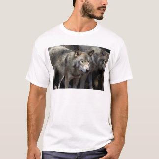 Grey wolf standing T-Shirt