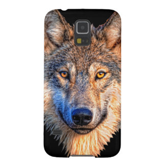 Grey wolf - wolf face case for galaxy s5
