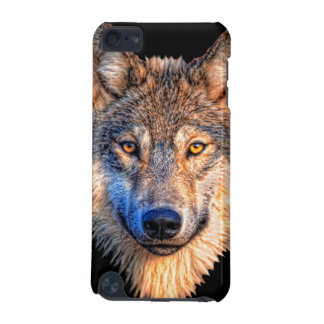 Grey wolf - wolf face iPod touch 5G case