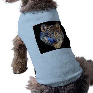 Grey wolf - wolf face shirt