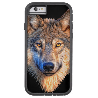 Grey wolf - wolf face tough xtreme iPhone 6 case