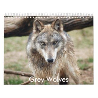 Grey Wolves Calendar, Grey Wolves Calendars