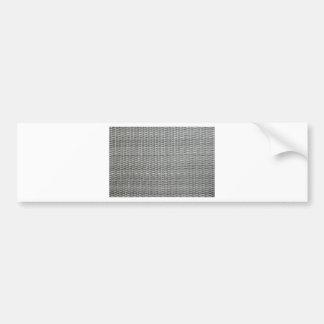 Grey woven webbing background bumper sticker