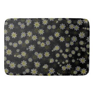 Grey Yellow Bathroom Mat