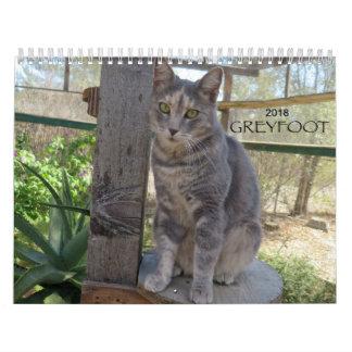 Greyfoot Cat Rescue 2018 Calendar