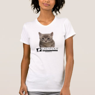 Greyfoot Cat Rescue Kitten with Logo Shirt